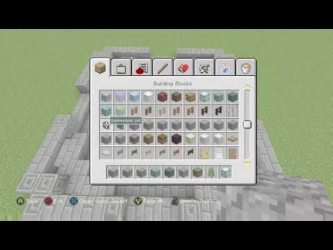 Minecraft: How To Built Minecraft Battle's Central Spawn Point [1]