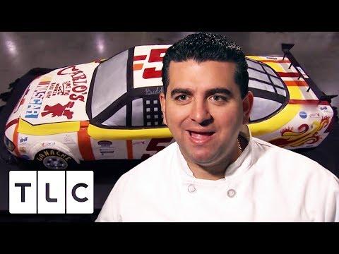 Buddy Builds a Life Size NASCAR CAKE | Cake Boss