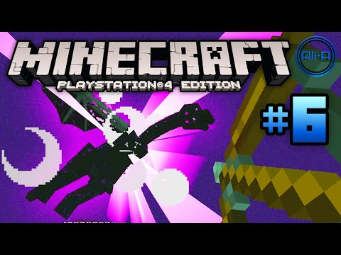 Minecraft PS4 gameplay Part 6 -