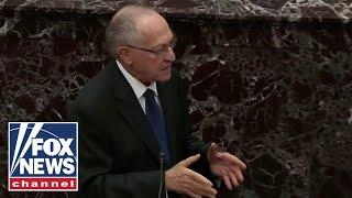 Dershowtiz to Senate: Bolton's allegations aren't impeachable, if true