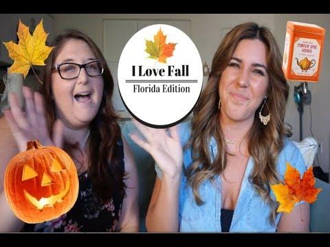 I Love Fall Tag | Florida Edition