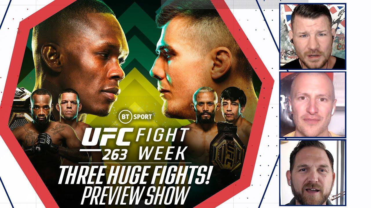 Fight Week: UFC 263 Preview Show   Adesanya v Vettori 2, Figueiredo v Moreno 2, Edwards v Diaz
