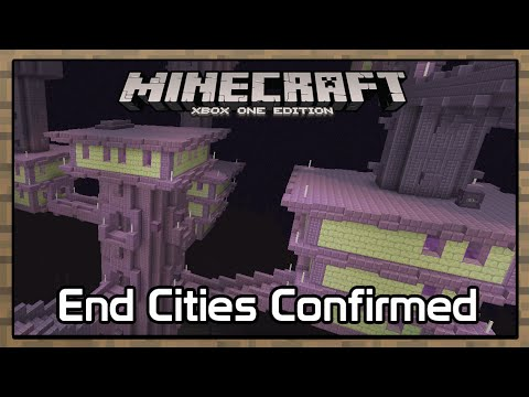 Minecraft Console:  End Cities Confirmed!?