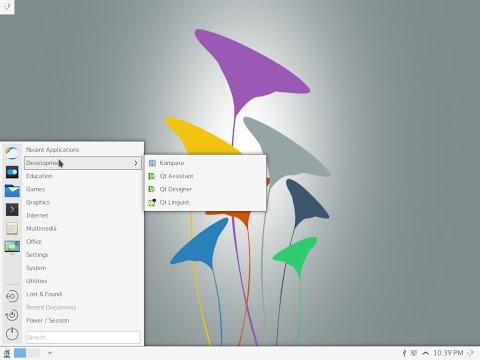 KaOS 2015.02 x86_64. KDE desktop.