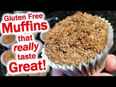 Gluten Free Muffins that don't Suck
