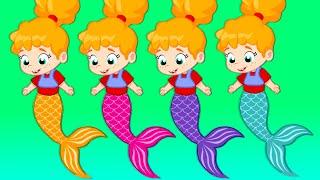 Groovy Le Martien dessin animé éducatif martien pour les enfants - La petite sirène est notre nouve