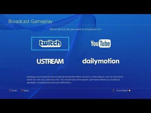 How to stream gameplay with Spotify on PS4!!