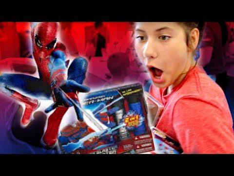 SPIDER-MAN Homecoming Gear Hunt SuperHero Kids