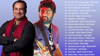 Best of Rahat Fateh Ali Khan and Arijit Singh Songs   Jukebox Collection   Bollywood Hindi Songs ♥