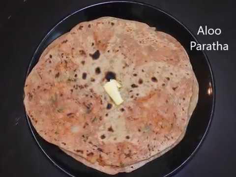 Aloo Paratha Recipe | alu paratha | aloo ka paratha | Potato stuffed indian bread | potato paratha