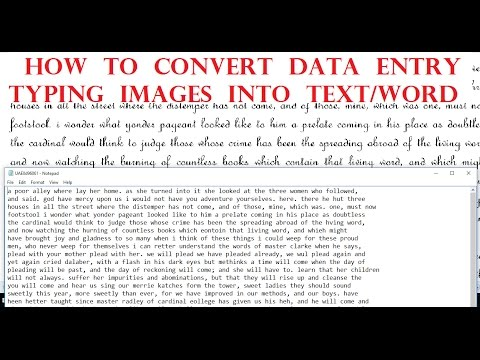 STOP Typing Data Entry Images & Convert Them With 100% ACCURACY !!(FOR ALL TYPING JOBS)