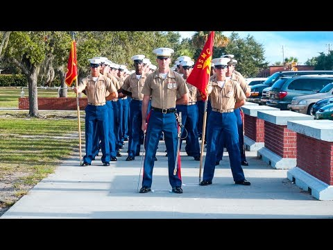 Do You Have What It Takes to Be A US MARINE? | Inspirational Parris Island Graduation