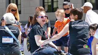 Strolling Thunder brings babies, kids, to NJ state capitol