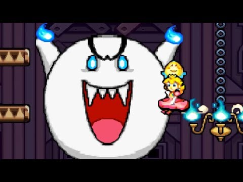Super Princess Peach - Walkthrough Part 11 - World 3 Shriek Mansion 1-7,1-8 & 1-9