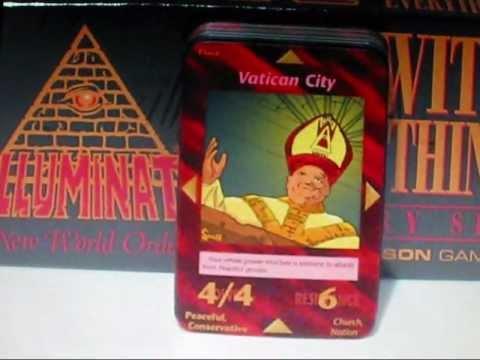 Illuminati , el juego de cartas del NWO