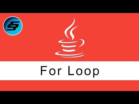 for loop - Java Programming