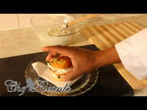 How To Combine Double Cream & Icing Sugar To Make Whipped Cream | Recipes By Chef Ricardo