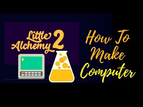 Little Alchemy 2-How To Make Computer Cheats & Hints