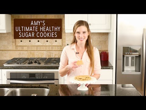 The Ultimate Healthy Sugar Cookies | Amy's Healthy Baking