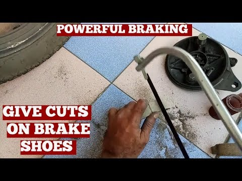 How To Make Your Brakes Better-How To Get The Most Out Of Your Drum Brake Motorcycle-Tutorial Diy