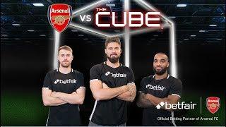 Giroud, Lacazette & Ramsey vs The Cube: Full episode