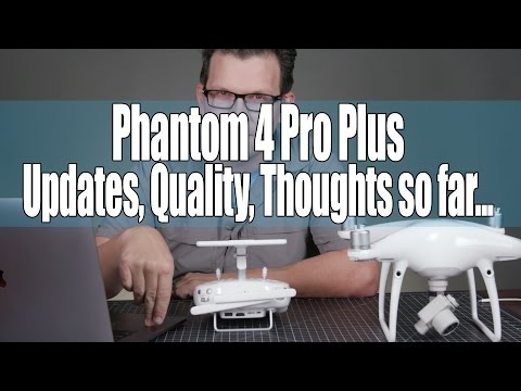 DJI Phantom 4 Pro Plus DO THIS FIRST - Firmware Update