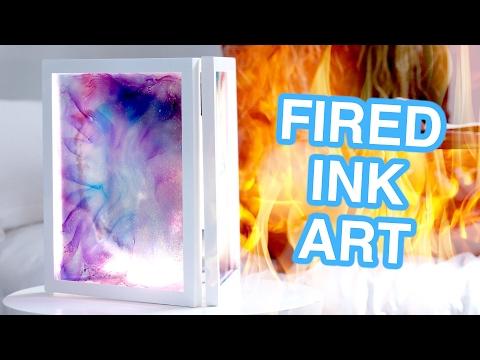 Easy Fired Ink Art