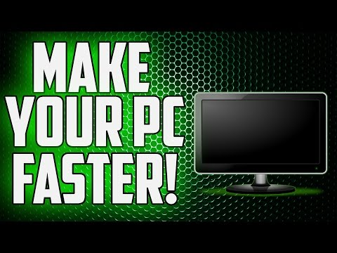 How To Make Your Computer Run Faster! (Laptop/Desktop)