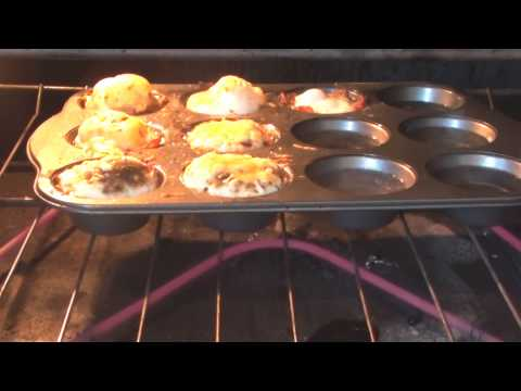 How to Cook Bacon & Eggs Breakfast Muffins