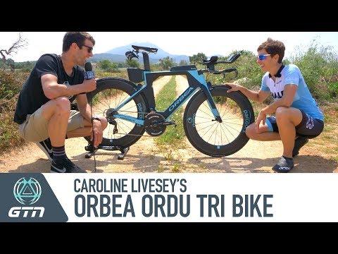 Caroline Livesey's Orbea Ordu Pro Bike And Triathlon Kit