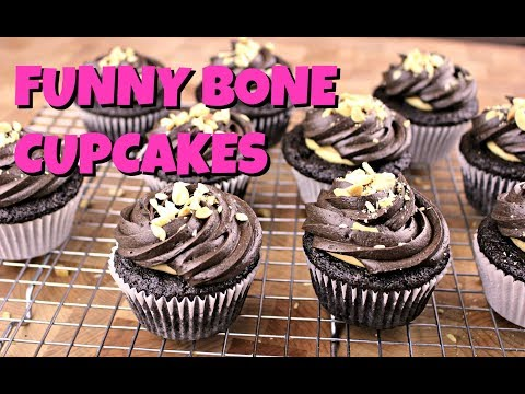 Funny Bone Cupcakes || Gretchen's Vegan Bakery