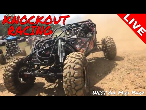Knockout Racing LIVE at West Ga Mud Park