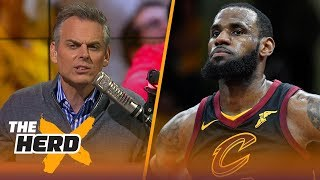 Colin Cowherd on the Cavaliers sweeping the Raptors, Philly