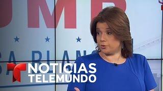 Analista republicana critica al portavoz de la Casa Blanca | Noticiero | Noticias Telemundo