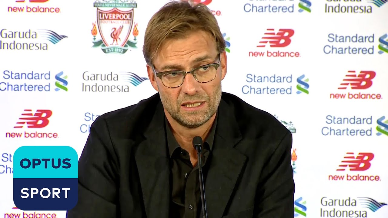 'We'll win in 4 years' Jurgen Klopp's first press conference at Liverpool