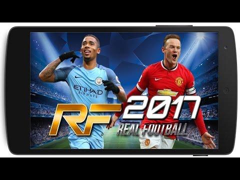 FINALMENTE!! REAL FOOTBALL 2017 TOTALMENTE LICENCIADO COM NARRAÇÃO ESPANHOL (MOD BETA) ANDROID