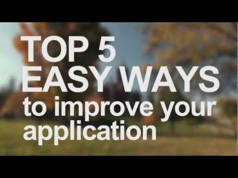 Top 5 Easy Ways to Improve Your Application
