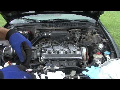 Honda How To changing spark plugs in your civic