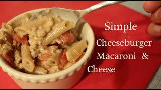 Simple Cheeseburger Mac And Cheese Hamburger Helper Style