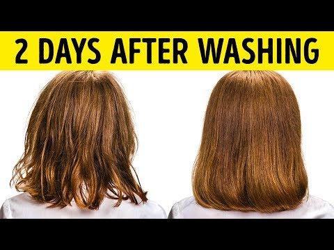 9 Ways to Stop Washing Your Hair Everyday
