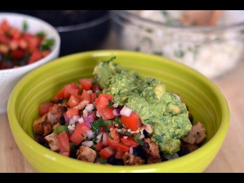 Chipotle Chicken Burrito Bowl Recipe - How to Make a Burrito Bowl - SyS