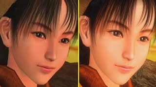 Shenmue Remastered Vs Original Early Graphics Comparison