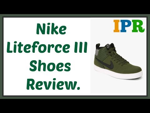 Nike Liteforce III Shoes Review | Indian Product Reviewer