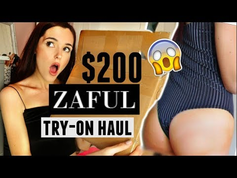 I SPENT $200 ON ZAFUL...*try-on haul*