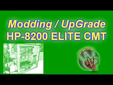 UpGrade MODDING for HP-8200 ELITE CMT. Instalar dos fuentes en un PC.