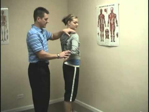 Relieve Back Pain - Rotator Cuff Stretch - Infraspinatus