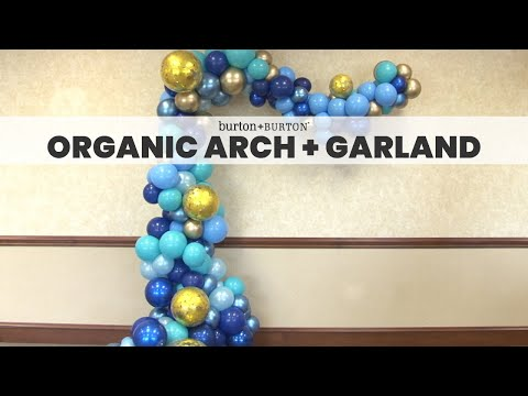Creative Solutions™ Design Lab: Organic Arch and Garland