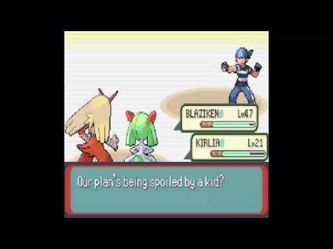 Pokemon Emerald | Weather Institute - Castform pokemon