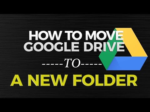 How to Move Google Drive Folder to Another Folder