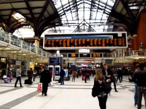 Liverpool Street Station Undergound Train London Harlow Town Stansted Food Stalls - Phil in Bangkok